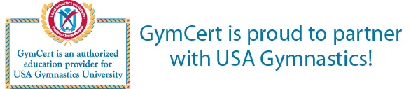 We are proud to partner with USA Gymnastics!